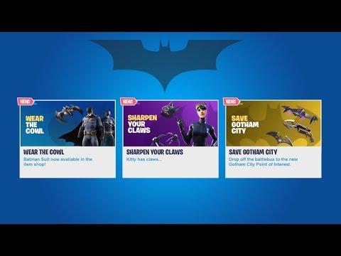 FORTNITE X BATMAN LIVE EVENT GAMEPLAY! NEW BATMAN SKIN, GOTHAM CITY + MORE!