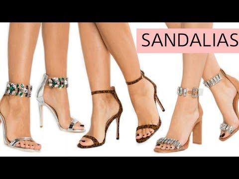 TENDENCIAS 2020 EN SANDALIAS DE TACÓN | Moda en Calzado Zapatos de Primavera Verano de Mujer Cómodos