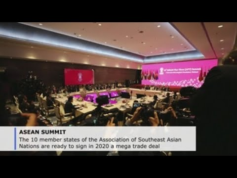 ASEAN countries pledge to sign mega trade deal in 2020