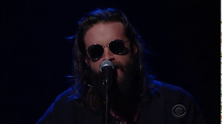 "Father John Misty, ""Holy Shit"" on The Late Show w/ Stephen Colbert - 1/14/16"