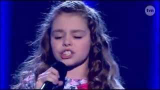 Mega Zdolna Dziewczynka śpiewa Piosenkę Katy Perry Unconditionally   Mali Giganci [TVN]