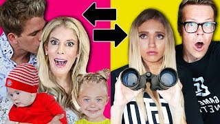 Video Switching HUSBANDS 24 HOUR CHALLENGE w/ the Labrant Fam! | Rebecca Zamolo MP3, 3GP, MP4, WEBM, AVI, FLV Agustus 2019