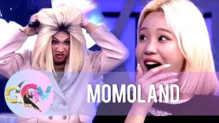 Momoland reassures Vice Ganda of his beauty.  Subscribe to the ABS-CBN Entertainment channel! - http://bit.ly/ABS-CBNEntertainment  Watch your favorite Kapamilya shows LIVE! Book your tickets now at http://bit.ly/KTX-GandangGabiVice  Watch the full episodes of Gandang Gabi Vice on TFC.TV   http://bit.ly/GGV-TFCTV and on iWant for Philippine viewers, click:  http://bit.ly/GGV-iWant  Visit our official websites! ang di https://entertainment.abs-cbn.com/tv/shows/ggv/main http://www.push.com.ph  Facebook: http://www.facebook.com/ABSCBNnetwork Twitter: https://twitter.com/ABSCBN  Instagram: http://instagram.com/abscbn  #GandangGabiVice #MomolandOnGGV #GGVonline