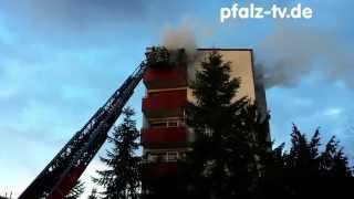 preview picture of video 'Wohnungsbrand in Speyer Schulze-Delitzsch-Straße'