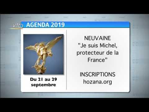 Agenda du 20 septembre 2019