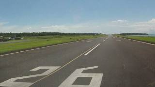 preview picture of video 'Apia RWY 26 Departure'