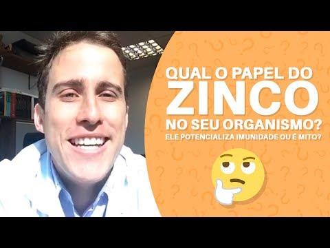Qual o papel do ZINCO no seu organismo? Ele potencializa Imunidade ou é mito? | Dr. Juliano Pimentel