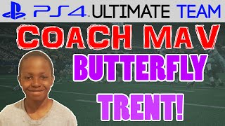 BUTTERFLY TRENT! | Coach Mav: Trent Ep.7 | Madden 15 Ultimate Team Gameplay (MUT 15 PS4)