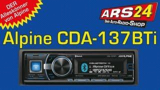 Alpine CDA-137BTi Autoradio-Review I ARS24