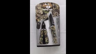 Camouflage Mossy Oak 2-pack Multi Tool And Knife