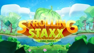 NetEnt Readies for Spectacular Debut of Strolling Staxx Staxx™