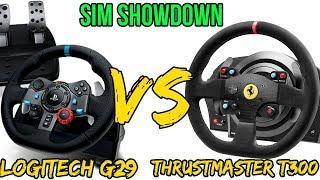 Thrustmaster T300 VS Logitech G29 Sim Battle