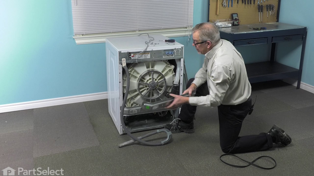 Replacing your Whirlpool Washer Drive Belt