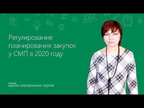 Регулирование планирования закупок у СМП в 2020 году