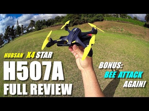 HUBSAN H507A X4 STAR GPS Drone - Full Review - [Unboxing, Flight Test, BEE ATTACK!, Pros & Cons]