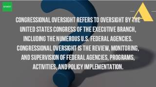 What Is The Oversight Function Of The Government?
