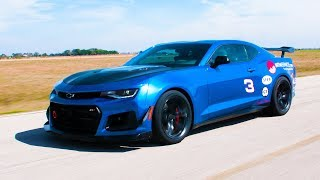 HPE750 ZL1 1LE Delivered to Racing For ALS Brothers