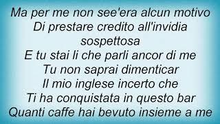 Andrea Bocelli - I Love Rossini Lyrics