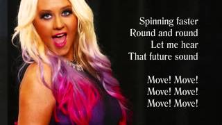 MAKE THE WORLD MOVE (Video Lyrics) - Christina Aguilera feat. Cee Lo
