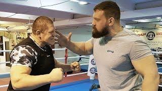 Вырубил с пощечины / Сарычев против Новоселова