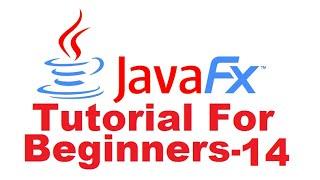 JavaFx Tutorial For Beginners 14 -  JavaFX  TreeView