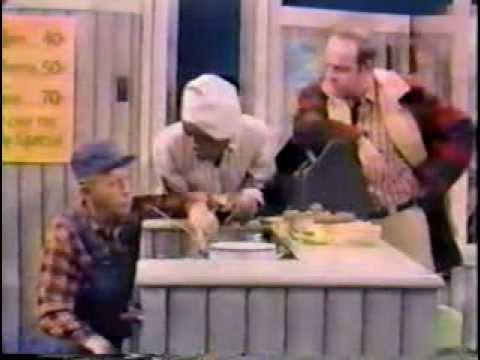 Bing Crosby, Flip Wilson, & Tim Conway – Diner Sketch