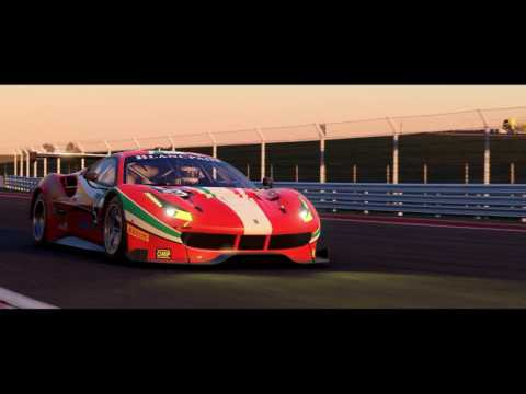 Ferrari Trailer 4K de Project Cars 2