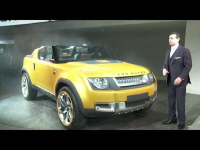 Jaguar Land Rover Press Conference