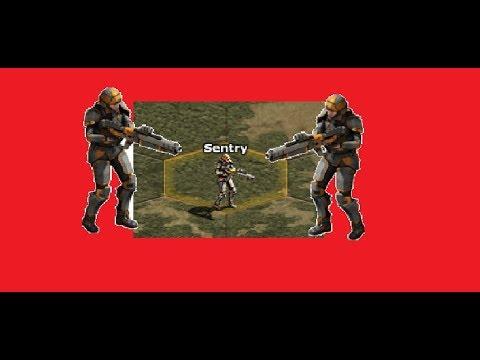 War Commander:Sentinels 40[Sentry base] FREE repair [Cerberus + any units]