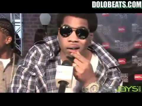 Webbie Cuttin' Up 2011 BET Hip Hop Awards