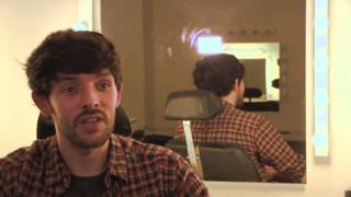 Colin Morgan Interview about The Fall - BBC Northern Ireland