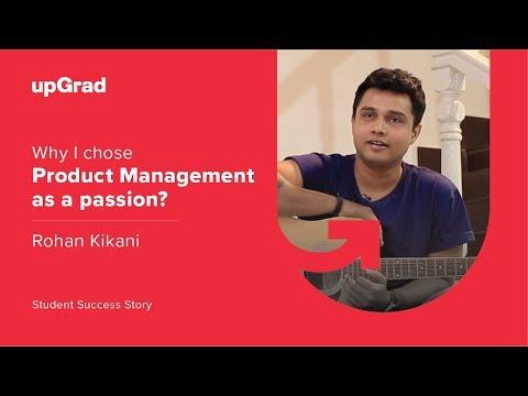 Career Change To Product Management | Rohan Kikani | Student ...
