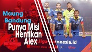 Maung Bandung Punya Misi Hentikan Alex dos Santos Goncalves