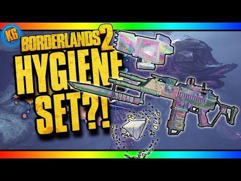 HYGIENE EFFERVESCENT SET - New DLC [Borderlands 2]