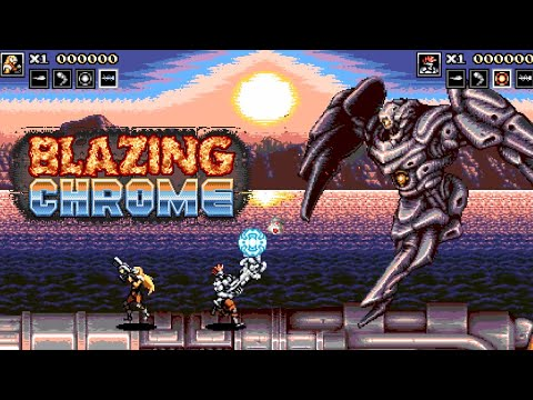 Blazing Chrome - Official Gameplay Trailer