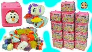 My Little Pony Fash'ems Stack'ems Squishy MLP + Disney Frozen Tsum Tsum
