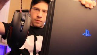 МЫШЬ и КЛАВА для PS4 / Xbox One
