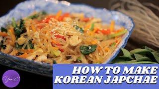HOW TO MAKE KOREAN JAPCHAE ✨ EAT WELL #37