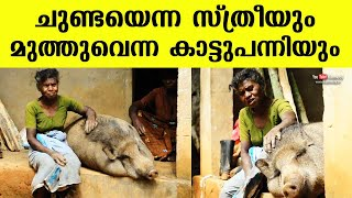 Wayanad\'s Chunda always got the company of a wild boar named \'Muthu\' | Kerala
