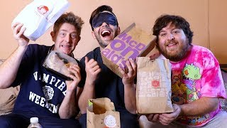 I TRIED GUESSING EVERY FAST FOOD BLINDFOLDED!! (Jonah's payback)