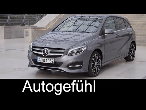 2015 Mercedes B-Class new Facelift B220 CDI 4MATIC exterior interior driving - Autogefühl