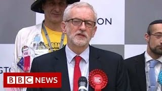 Election results 2019: Jeremy Corbyn holds his Islington seat - BBC News