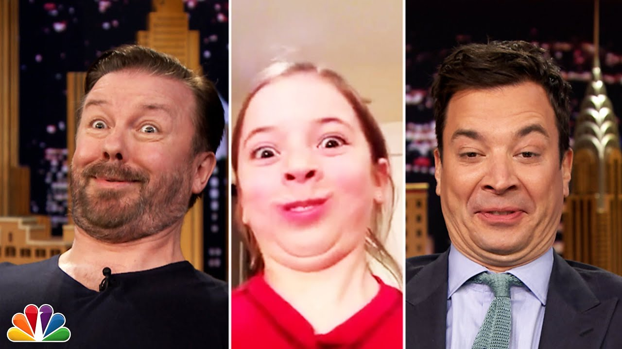 Tonight Show Funny Face Off with Ricky Gervais thumbnail