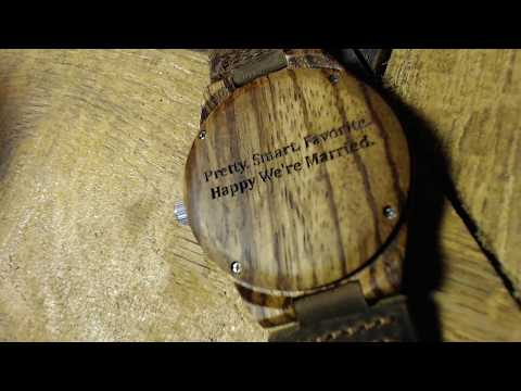 Zebrawood Watch review from Treehut