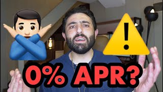 What 0% APR & NO PAYMENTS really means...