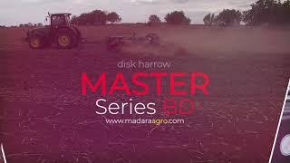 "Trailed x-offset disc harrow ""Master"""