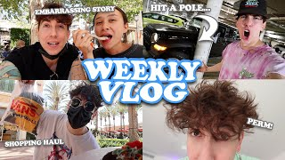 WEEKLY VLOG ~ DESTROYED MY JEEP, PERMED MY HAIR, CLOTHING HAUL ~