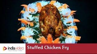 Kozhi Nirachu Porichathu - Malabar Cuisine