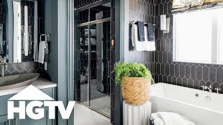 Tour the Master Bathroom | HGTV Smart Home (2019) | HGTV