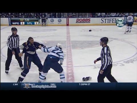 Chris Thorburn vs Ryan Reaves